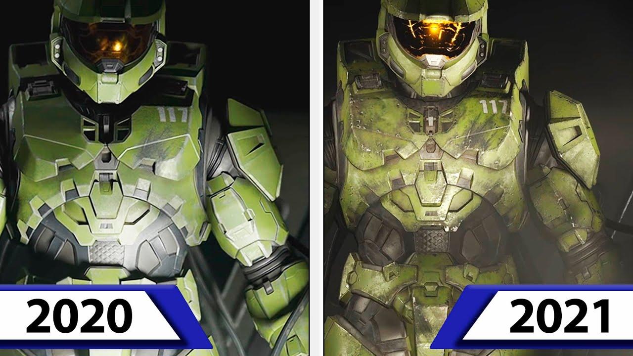 Download Halo Infinite | 2021 vs 2020 | Campaign Trailer Comparison