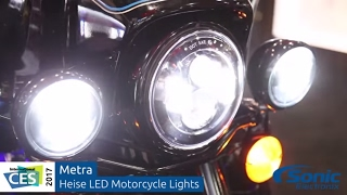 Metra Heise LED Motorcycle Lights | CES 2017