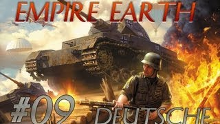 Lets Play Empire Earth - Deutschenkampagne #09 [Deutsch HD] BLITZKRIEG