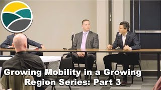 """NWARPC """"Growing Mobility in a Growing Region Series"""": Part 3"""