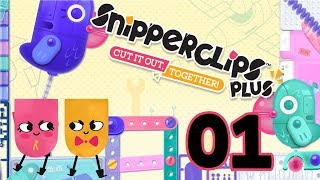 Snipperclips Plus - 01