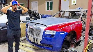 BUYING A CRASHED ROLLS ROYCE IN DUBAI !!!
