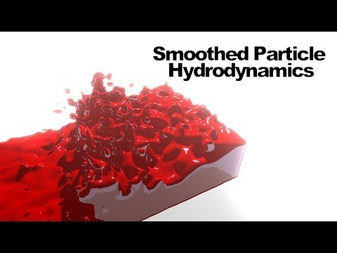 Smoothed Particle Hydrodynamics (SPH) : Fluid Simulation