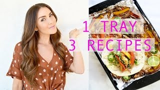 3 EASY 1 Tray Recipes