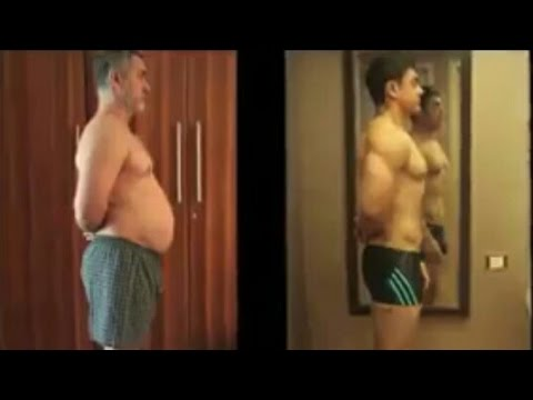 Aamir Khan Workout For Dangal Movie From Fat To Bodybuilder