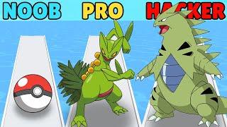 NOOB vs PRO vs HACKER in Monster Box screenshot 2