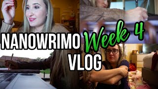 The NaNo Blues | NaNoWriMo Writing Vlog Week 5
