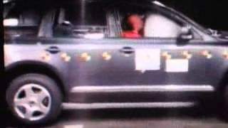 Vehicule  VW Touareg Crash test-Extreme