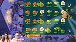 Растения против Зомби - Ночная Глава | Играем 2-ем с Настей(Еще больше видео, где мы играем 2-ем на Xbox One (360) - https://www.youtube.com/playlist?list=PLHnzFDstWVe0ucw_o7wyLuxpJ7x-XZClN Спасибо за ..., 2016-06-28T04:00:00.000Z)