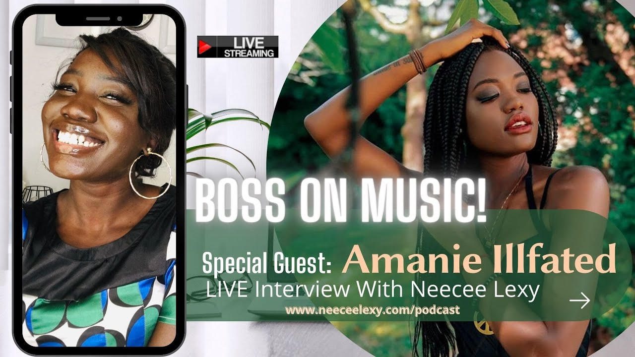 LIVE Interview with Amanie Illfated | Toronto Artist
