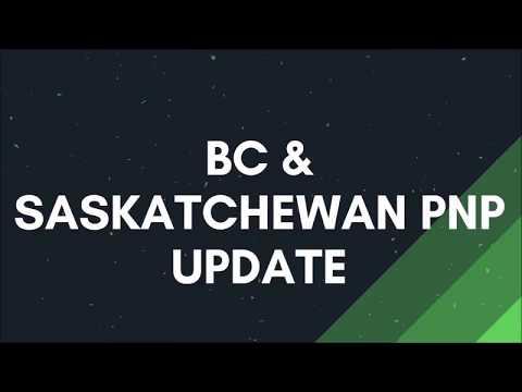 BC PNP & SINP Update