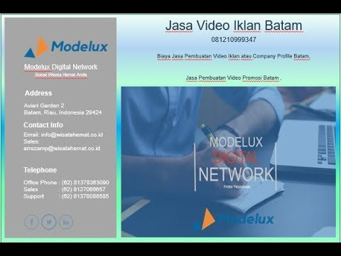 081210999347, Harga Jasa Video Company Profile Batam,