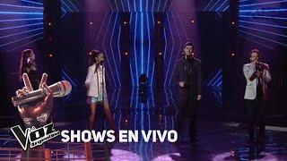 """Amorina, Braulio, Lucas y Juliana cantan """"Un poco loco"""" de T..."""
