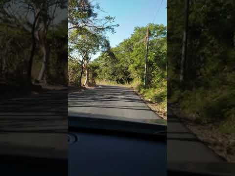 SESORI, SAN MIGUEL, EL SALVADOR. CALLE HACIA SESORI.