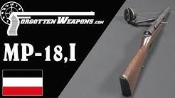 Schmeisser's MP-18,I - The First True Submachine Gun