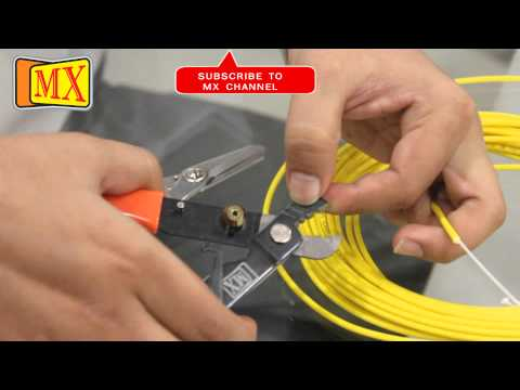 How to use Fiber Optic Cable Cutter Stripper before using it on the Splicing Machine