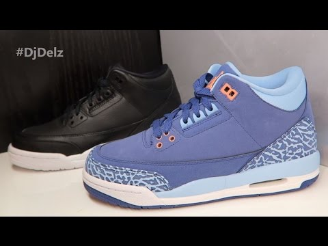 f4a511ffddc6 AIR JORDAN 3 PURPLE DUST GS SNEAKER REVIEW + SHOUT OUTS - YouTube