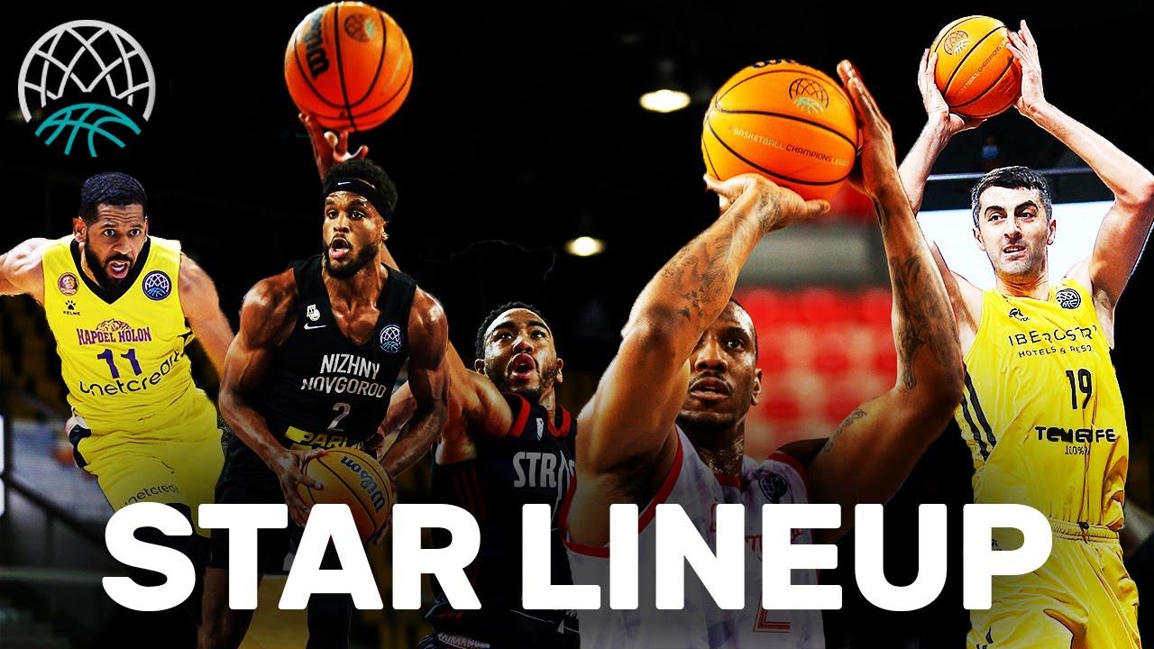 STAR LINEUP 2020/21 | Basketball Champions League 2020/21