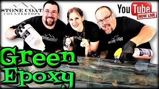 Epoxy Green Stone