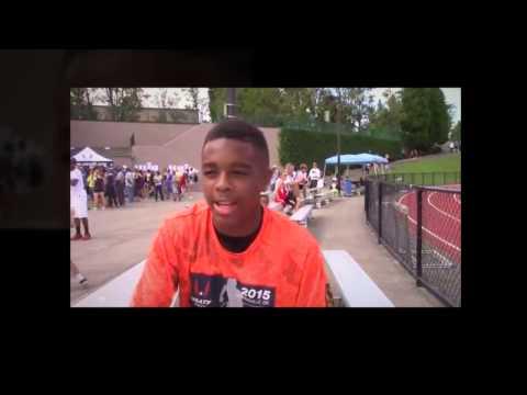 Micah Williams at JO Region 13 Championships