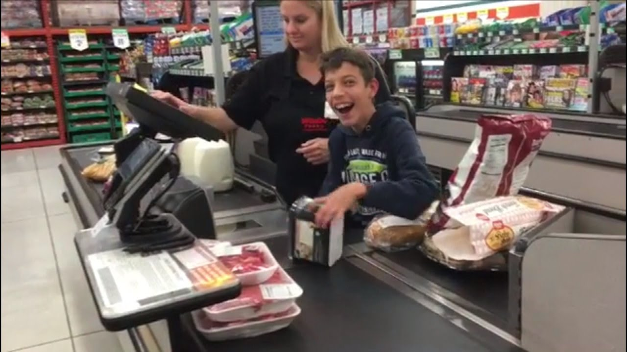 Grocery Store Cashier