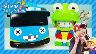Don't brush your teeth with chocolate l Hana's Toy Show #7 l Hana the Mechanic l Tayo the Little Bus