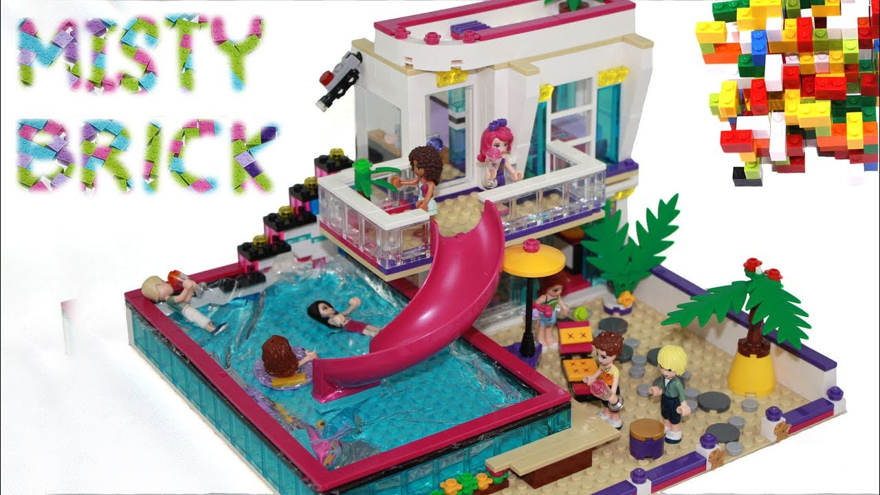 Lego Friends House 17 Improvements By Misty Brick Youtube