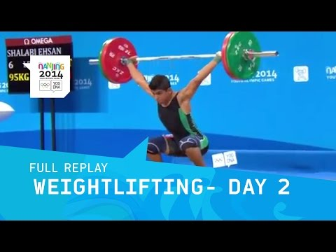 Weightlifting  - Men's 62kg Afternoon Session Day 2 | Full Replay | Nanjing 2014 Youth Olympic Games