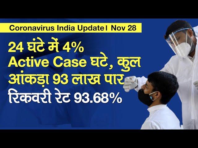 Coronavirus India Update: कोरोनावायरस केस 93 लाख पार, PM Modi का 3 COVID-19 Vaccine का दौरा
