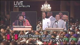 A New Beginning; Minister Farrakhan and Betty Shabazz  - Apollo Theater (Malcolm X)