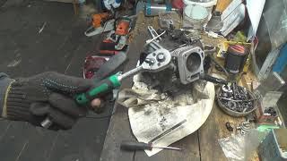 ремонт китайского мотоблока 168f