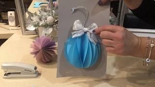 Цветы из бумаги для оформления подарков и декора!
