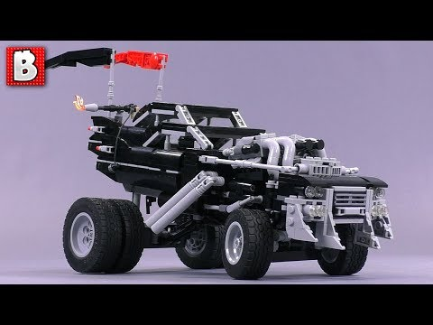 Custom LEGO Gigahorse Mad Max Fury Road Update & Review!