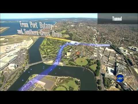 Ten News Sydney - Infrastructure NSW Transport Report handed down (3/10/2012)