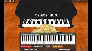 National Anthem: Germany - Deutschlandlied - roblox piano