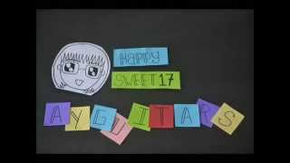 Download Happy Birthday Ayugitars (Stopmotion)