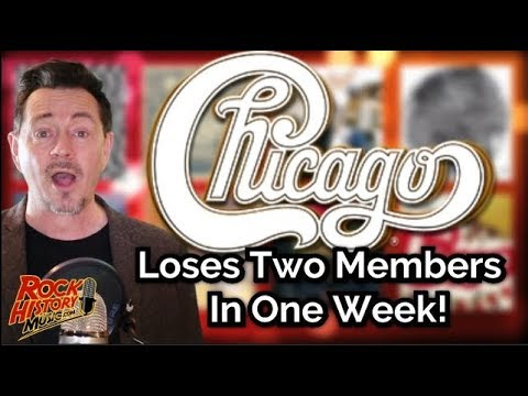 Chicago Loses Two Band Members in One Week: Who's Gone Who's New