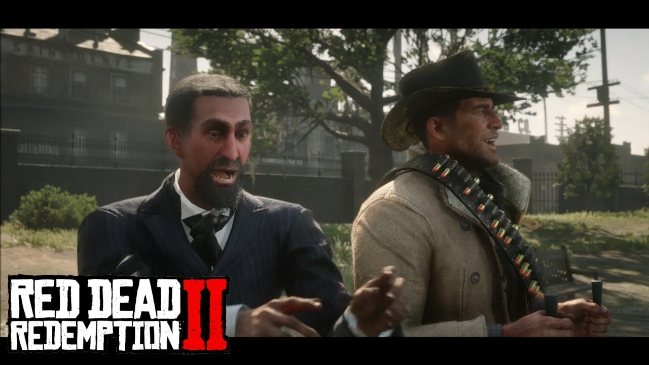 RED DEAD REDEMPTION II - Meeting Professor Marko Dragic The Inventor | PS4 Gameplay
