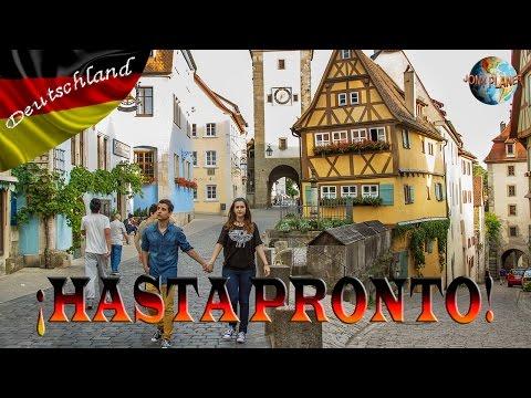 RUTA ROMANTICA: Núremberg y Rothenburg ob der tauber | Vlog Germany 11#