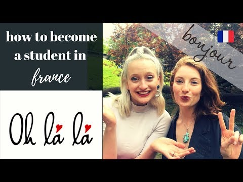 How to Become an International Business or Art Student in France