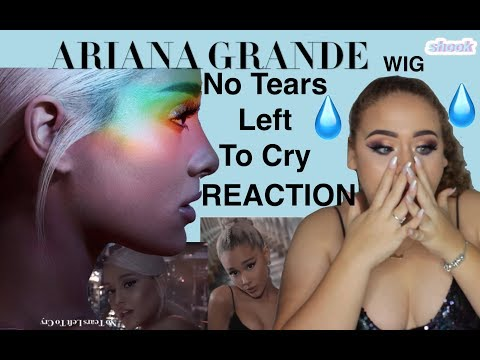 No Tears Left To Cry  Ariana Grande Music Video REACTION  Elise Wheeler