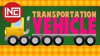 Learn Transportation - Learn the Vehicle | Easy Preschool Learning | Learn Shape Numbers