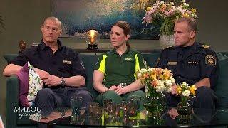 Hjältarna som hjälpte terrorattackens offer - Malou Efter tio (TV4)