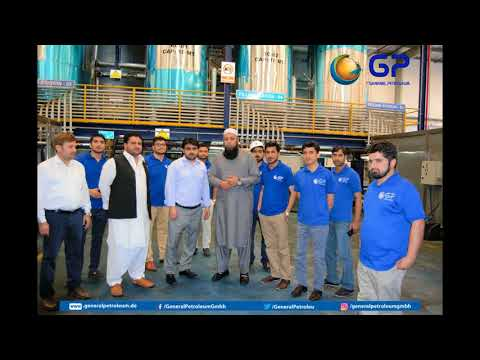 Inzamam-ul-Haq visit's General Petroleum head office at Sharjah United Arab Emirates.