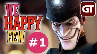 Thumbnail für das We Happy Few Let's Play