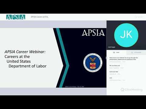 APSIA Careers at DOL