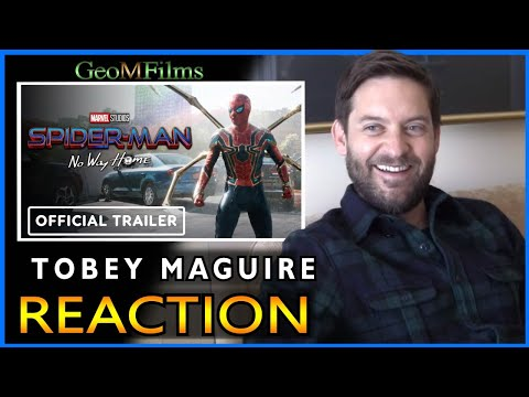Tobey Maguire REACTION Spider man No Way Home Trailer DUB