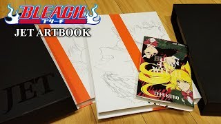 BLEACH JET artbook UNBOXING!!!