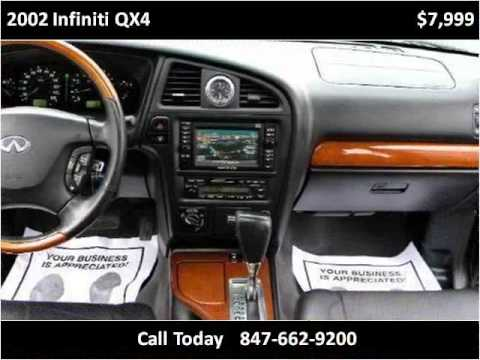 2002 infiniti qx4 used cars chicago il youtube. Black Bedroom Furniture Sets. Home Design Ideas