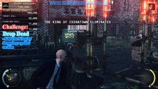 04 The King of Chinatown Hitman Absolution + Secret Challenges! Stealth Walkthru Purist Difficulty